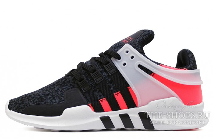 Кроссовки ADIDAS Equipment Support Adv Core Black Turbo