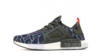 NMD КРОССОВКИ МУЖСКИЕ<br/> ADIDAS NMD XR1 DUCK CAMO BLUE PURPLE