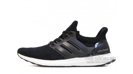 Ultra boost КРОССОВКИ МУЖСКИЕ<br/> ADIDAS ULTRA BOOST CORE BLACK WHITE