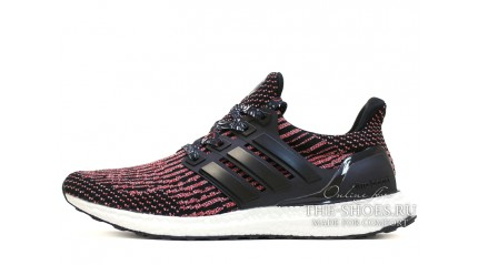 Ultra boost КРОССОВКИ МУЖСКИЕ<br/> ADIDAS ULTRA BOOST CNY RED CORE TECH BLACK