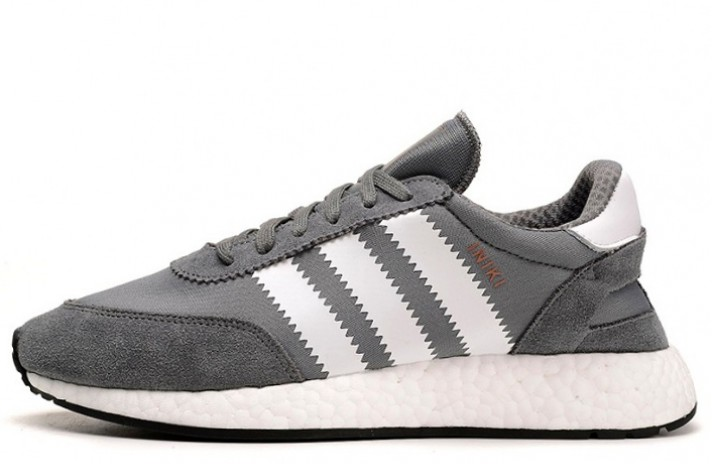 ADIDAS Iniki Runner Vista Grey White серые