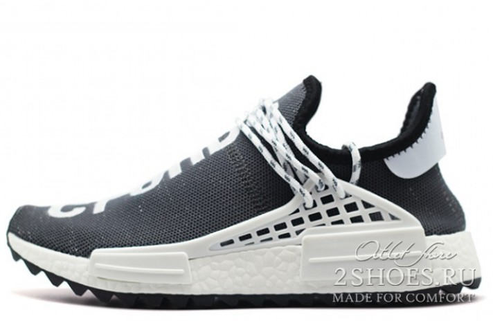 buy online 5495f 278ee Кроссовки ADIDAS NMD Pharrell Williams Human Race Chanel Gray White
