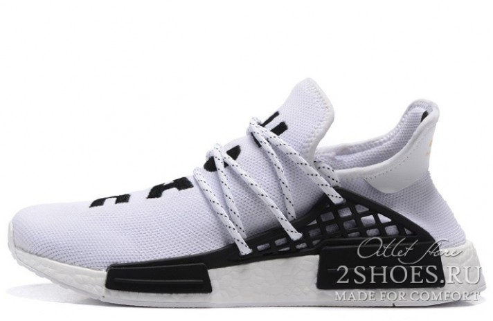 ADIDAS NMD Pharrell Williams Human Race white белые