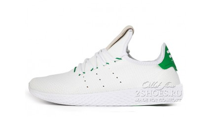 ADIDAS Tennis Hu Pharrell Williams White Green