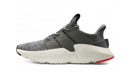 Adidas Prophere Grey Three White Solar Red серые