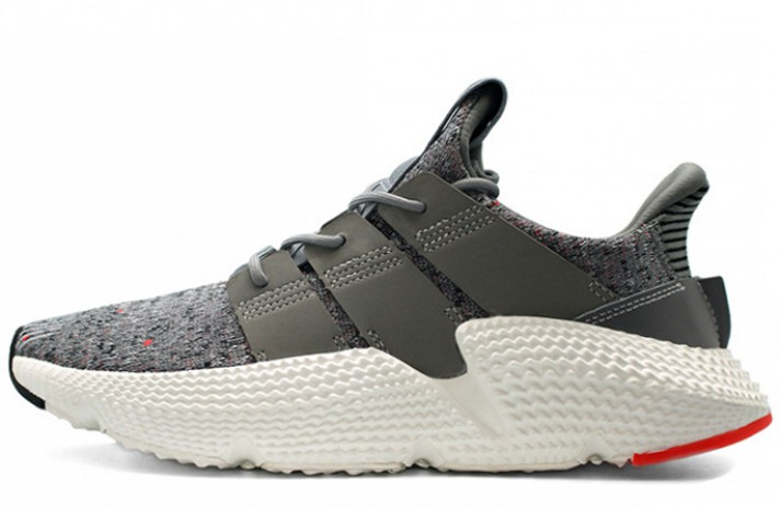 wholesale dealer 8a9dc a1a95 Adidas Prophere Grey Three White Solar Red серые