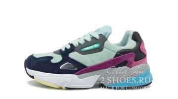 Кроссовки женские Adidas Falcon W80 Clear Mint Colleg Navy