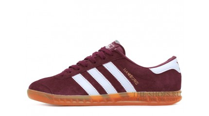 Adidas Hamburg Red White Glassy