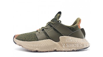 Кроссовки женские Adidas Prophere Trace Olive Solar Red