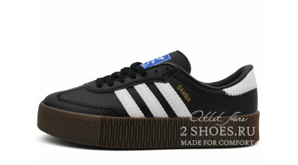 Adidas Samba Rose Black Leather