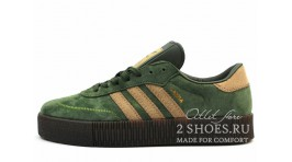 Adidas Samba Rose Green Brown зеленые
