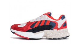 Adidas Yung 1 Chalk White Red Navy красные