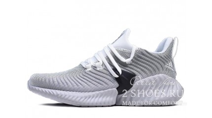 Adidas AlphaBounce Instinct Cloud White Grey