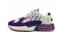 Adidas Yung 1 Frieza Dragon Ball Z белые фиолетовые