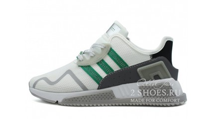 ADIDAS EQT Cushion Adv Ftwr White Sub Green Grey