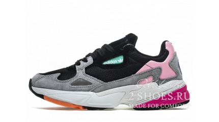 Falcon КРОССОВКИ ЖЕНСКИЕ<br/> ADIDAS FALCON W80 LIGHT GRANIT CORE BLACK