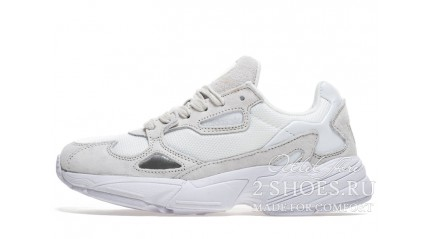 Falcon КРОССОВКИ ЖЕНСКИЕ<br/> ADIDAS FALCON W80 WHITE TRIPLE