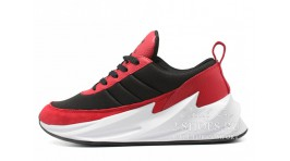 Adidas Shark Boost Concept Black Red черные красные