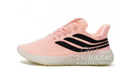 Adidas Sobakov Clear Orange Core Black Crystal