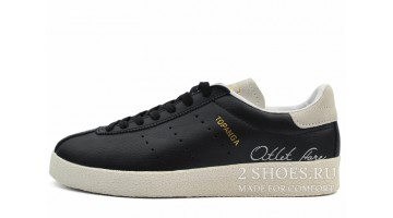 Кроссовки мужские Adidas Topanga Black White Leather
