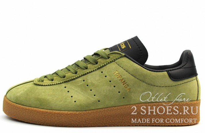 Adidas Topanga Craft Green зеленые