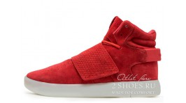 Adidas Tubular Invader Strap Red Ice красные