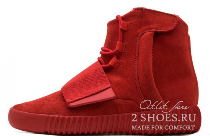 Купить Adidas Yeezy Boost 750 Red October - красные 123c77e89e4c