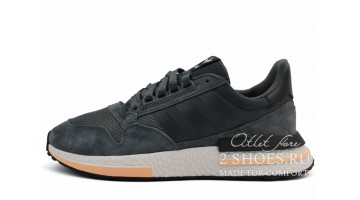 Кроссовки Мужские Adidas ZX 500 RM Grey Five Ftwr Orange