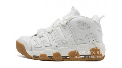 Nike Air More Uptempo 96 White Gum
