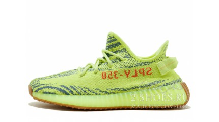 Yeezy Boost КРОССОВКИ МУЖСКИЕ<br/> ADIDAS YEEZY BOOST SPLY 350 V2 SEMI YELLOW