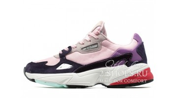 Кроссовки женские Adidas Falcon W80 Clear Pink Legend Purple