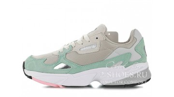 Кроссовки женские Adidas Falcon W80 Easy Green Grey One
