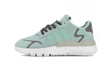 Кроссовки женские Adidas Nite Jogger Ice Mint Clear