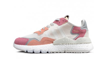 Adidas Nite Jogger Raw White Trace Pink