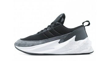 Кроссовки женские Adidas Shark Boost Concept Gray Black