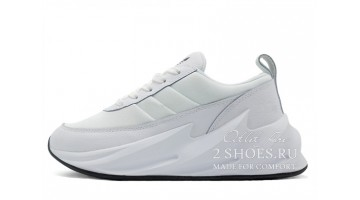 Кроссовки женские Adidas Shark Boost Concept Triple White