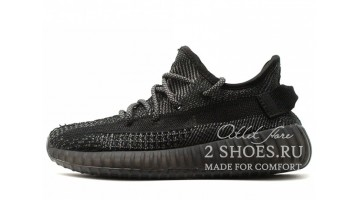 Кроссовки женские Adidas Yeezy Boost 350 V2 Black Static