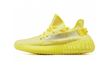Кроссовки женские Adidas Yeezy Boost 350 V2 Hyper Yellow