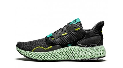 Adidas ZX 4000 4D Carbon Semi Solar Yellow