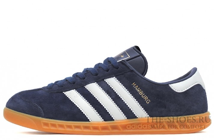 Кроссовки Adidas Hamburg Blue White
