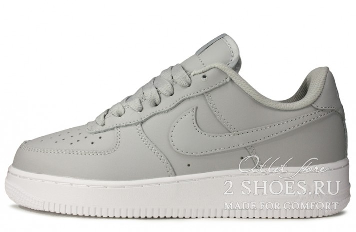 Кроссовки Nike Air Force 1 Low Wolf Grey White