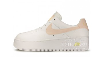 Кроссовки Женские Nike Air Force 1 Sage White Pale Pink