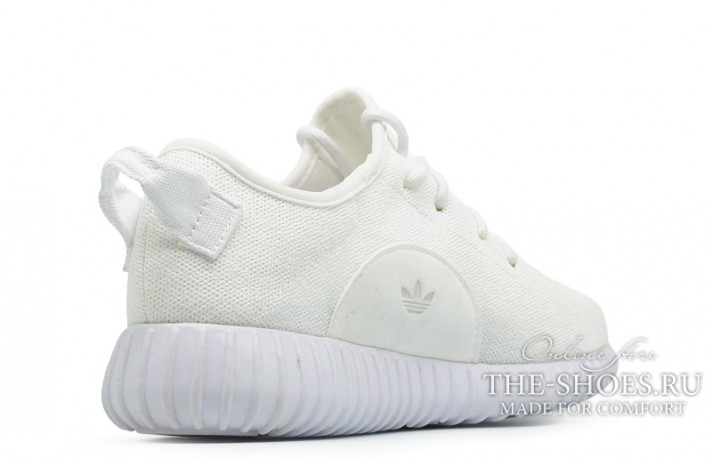 Adidas Yeezy Boost 350 Pure White белые, фото 3