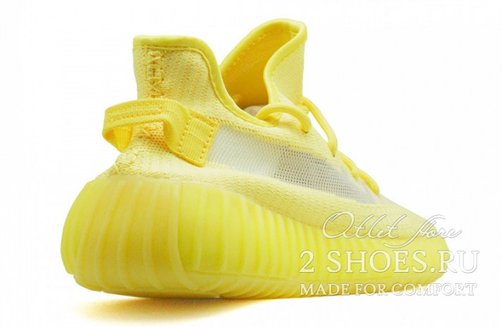 Adidas Yeezy Boost 350 V2 Hyper Yellow желтые, фото 3