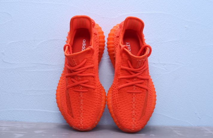 Adidas Yeezy Boost 350 V2 Red October красные, фото 3