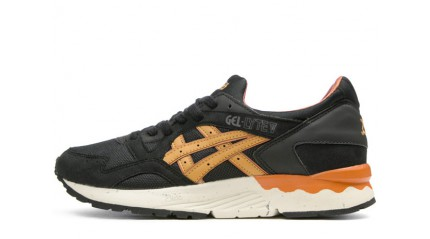 Gel Lyte 5 КРОССОВКИ ЖЕНСКИЕ<br/> ASICS GEL LYTE 5 BLACK TAN ORANGE