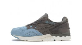 Asics Gel LYTE 5 Suede Toe Grey Light Blue голубые серые