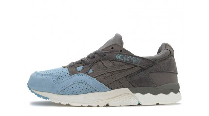 Gel Lyte 5 КРОССОВКИ ЖЕНСКИЕ<br/> ASICS GEL LYTE 5 SUEDE TOE GREY LIGHT BLUE
