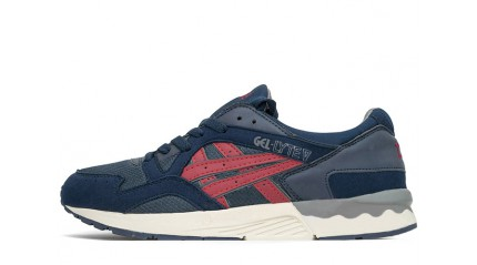 Gel Lyte 5 КРОССОВКИ МУЖСКИЕ<br/> ASICS GEL LYTE 5 BLUE DARK INDIA INK BURGUNDY