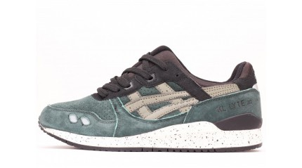Gel Lyte 3 КРОССОВКИ МУЖСКИЕ<br/> ASICS GEL LYTE 3 AFTER HOURS GREEN BLACK